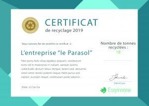 certificat-recyclage